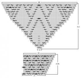 Кардиган Альтаир - Схема 3