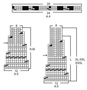 Джемпер хрустальный блеск - Схема 3