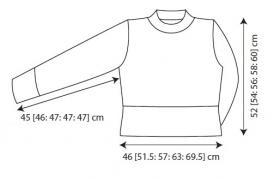 Пуловер Мэрилин - Выкройка 1