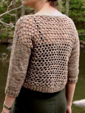 Пуловер пятилистник - Фото 1
