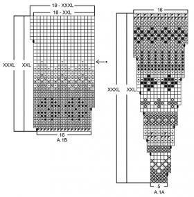 Кардиган Ставангер - Схема 3