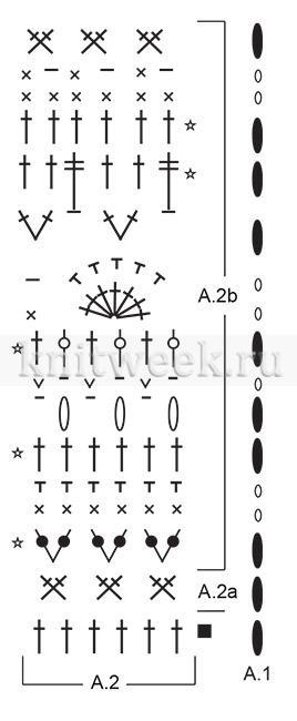 Юбка Розалина - Схема 2