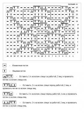 Пуловер Страум - Схема 1