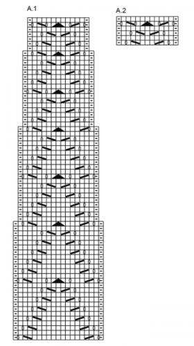 Джемпер длина волны - Схема 2