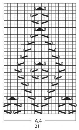 Носки светлая сторона - Схема 2