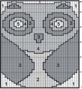 Свитер с совой для ребенка - Схема 1