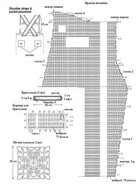 Детский комбинезон - Схема 2