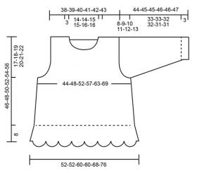 Пуловер Адель - Выкройка 1