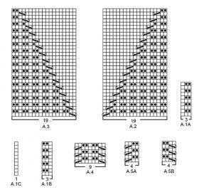 Джемпер Морвен - Схема 2