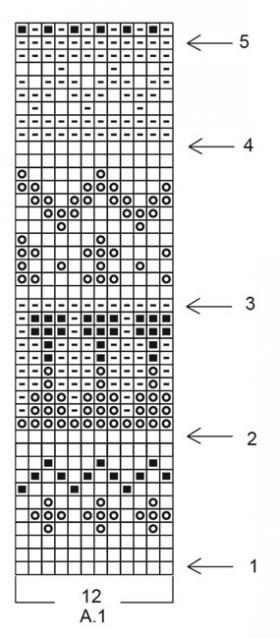 Кардиган Сладкая нуга - Схема 2