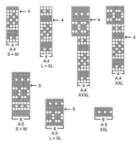 Джемпер Лофотен - Схема 2