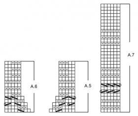 Джемпер Махала - Схема 2