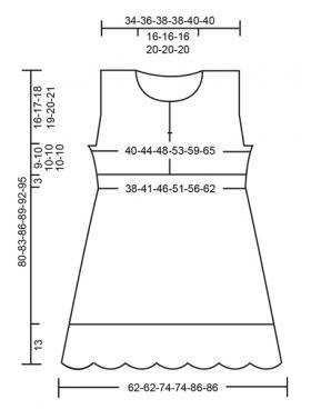 Платье Рибеира - Выкройка 1