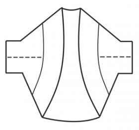 Болеро Лилани - Выкройка 2