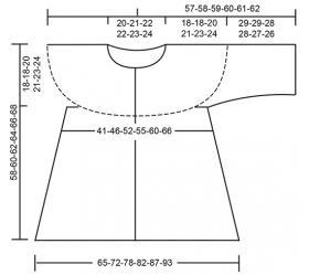 Кардиган Дюна - Выкройка 1