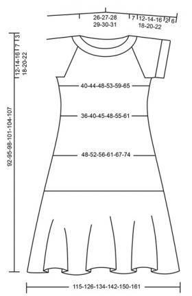 Платье Квинсленд - Выкройка 1