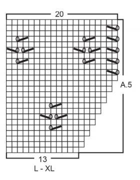 Джемпер Побережье - Схема 5