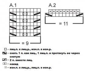 Топ Одри - Схема 1