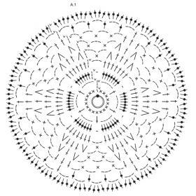 Джемпер Дженис - Схема 1