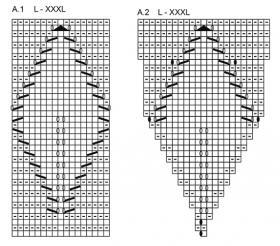Жакет осенняя лоза - Схема 1