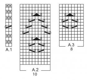 Носки светлая сторона - Схема 1
