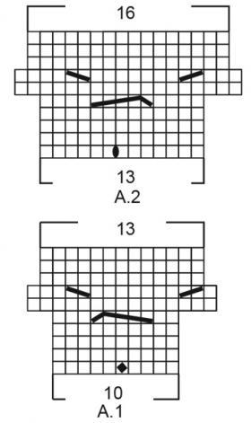 Джемпер Весенняя песня - Схема 2