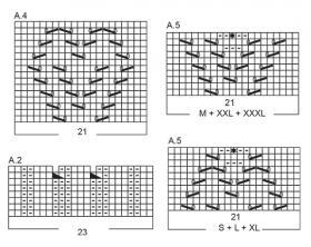 Пуловер Жемчужина - Схема 4