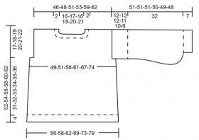Свитер Заколдованный - Выкройка 1