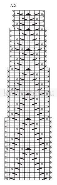 Кардиган длина волны - Схема 1