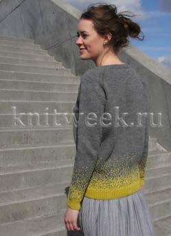 Пуловер Усеянный звездами