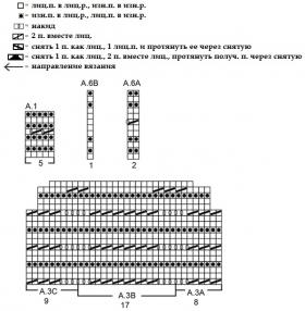 Жакет колибри - Схема 2