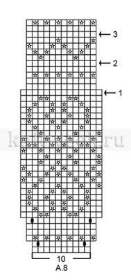 Шапка Розендал - Схема 1
