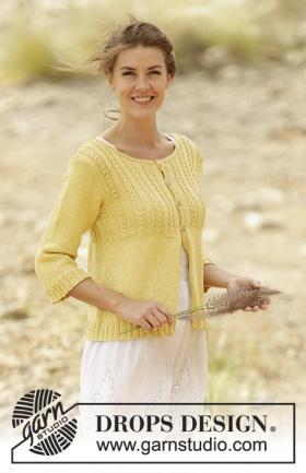 Жакет золотой цветок