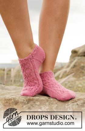 Носки розовая камелия