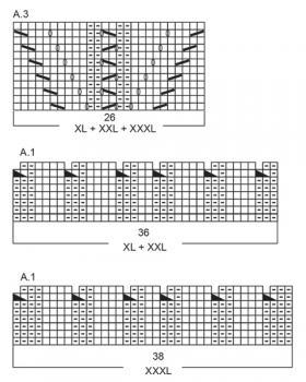 Пуловер Жемчужина - Схема 3