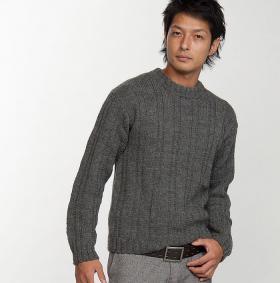 Классический серый свитер