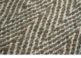 Снуд с узором зиг заг из снятых петель - Фото 1
