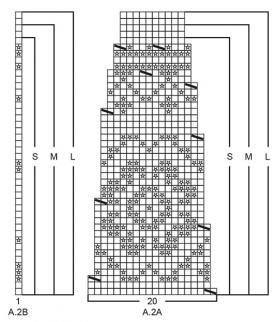 Кардиган Литорина - Схема 3