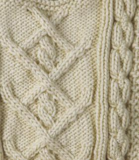Детский свитер с аранами - Фото 1