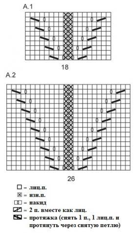 Ажурный чехол для подсвечника - Схема 1