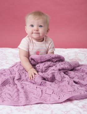 Ажурное покрывало для малыша - Фото 2