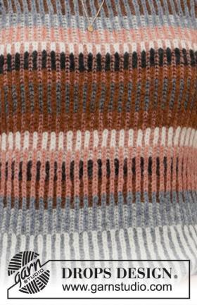 Пуловер Красочная осень - Фото 1