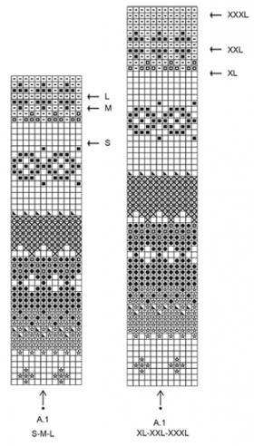 Платье горный вереск - Схема 2