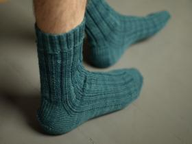 Носки с узором из полос - Фото 3