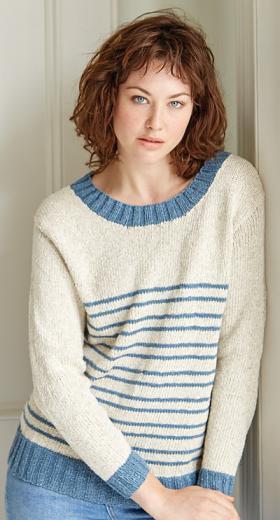 Пуловер Каплайн