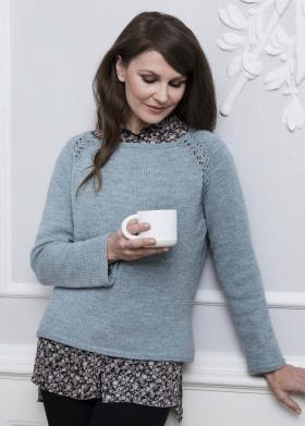 Пуловер Дельфинум