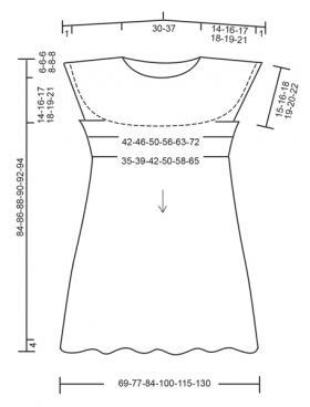 Платье Мэри - Выкройка 1