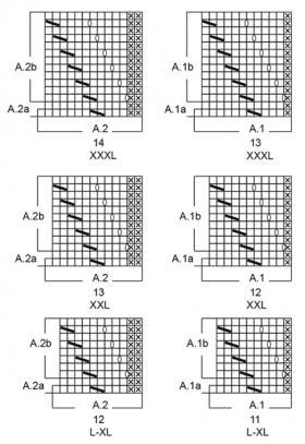 Жакет нива - Схема 1