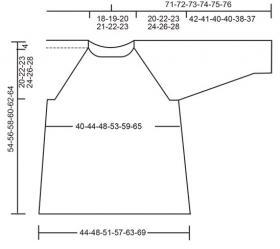 Пуловер Первомай - Выкройка 1