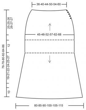 Юбка миди с ажурными мотивами - Выкройка 1